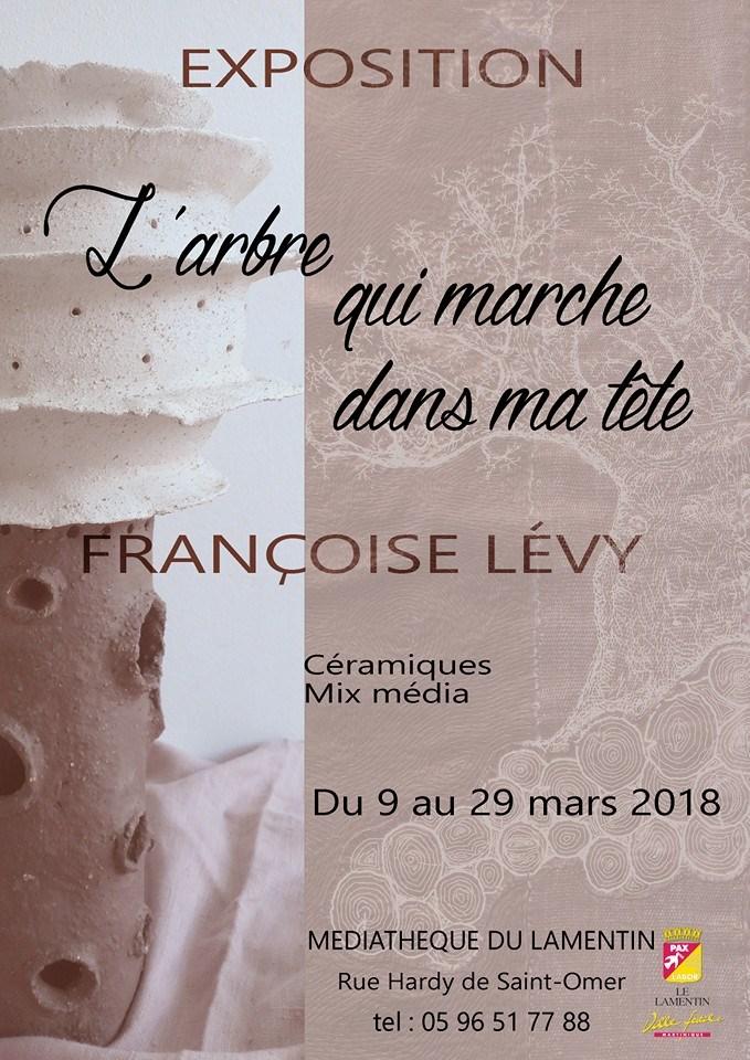 Affiche expo Françoise Lévy
