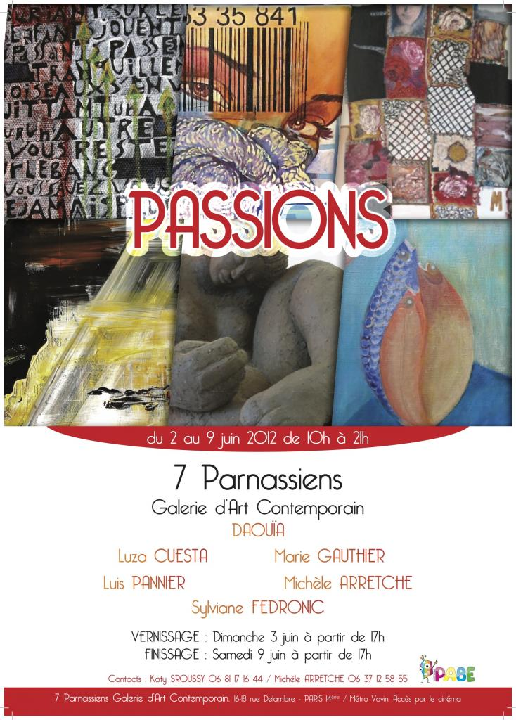 Exposition PARIS 7 Parnassiens